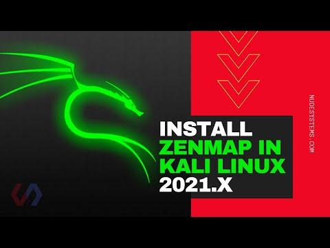 How To Install ZENMAP In KALI LINUX 2021 [Method 1]
