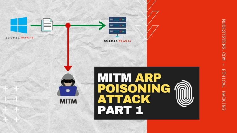 MITM ETTERCAP ARP POISONING ATTACK [ETHICAL HACKING]. Source: nudesystems.com