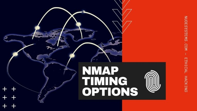 15 NMAP Timing Options - When And How To Use Them. Source: nudesystemes.com