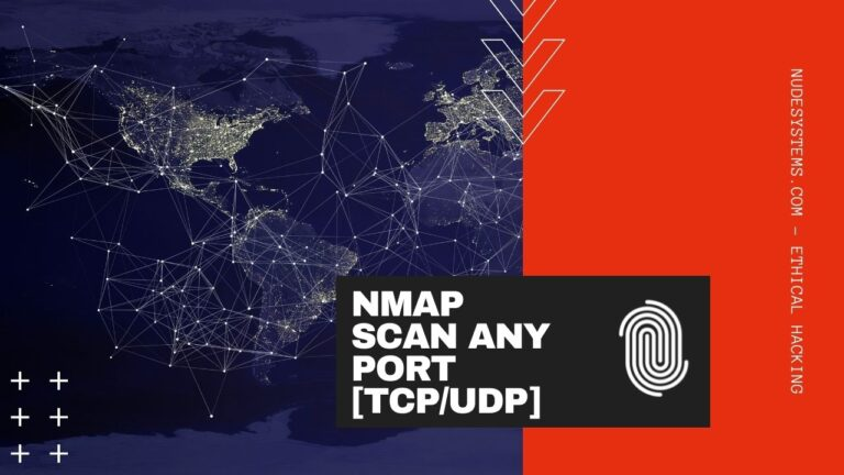 HOW TO USE NMAP TO SCAN ANY PORT [UDPTCP] [2021]. Source: nudesystems.com