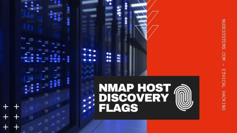 17 NMAP HOST DISCOVERY FLAGS AND HOW TO USE THEM. Source: nudesystems.com