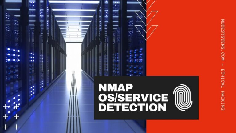 5 Must Know NMAP Flags For OS and Service Detection. Source: nudesystems.com