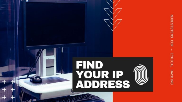 WHAT IS MY IP ADDRESS [WINDOWS, MACOS, LINUX, AND UNIX]. Source: nudesystems.com