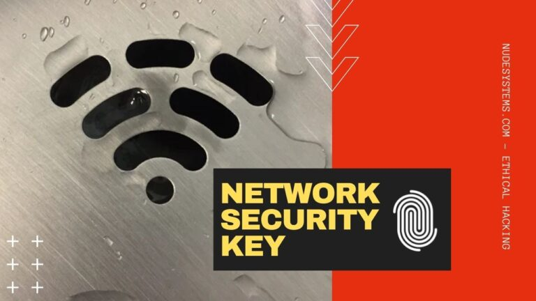 What Is A Network Security Key And How To Find It. Source: nudesystems.com