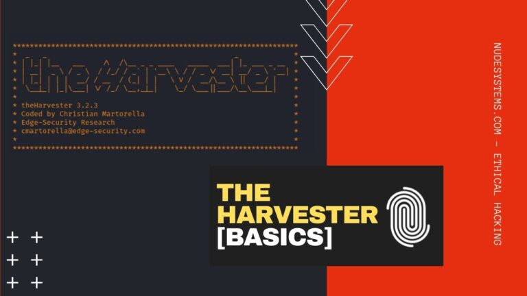 theHarvester Explained [Installation and Use]. Source: nudesystems.com