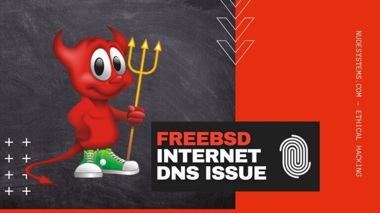 FreeBSD Cannot Connect To The Internet [DNS issue]. Source: nudesystems.com
